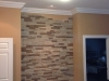Finished Accent Stone Installation